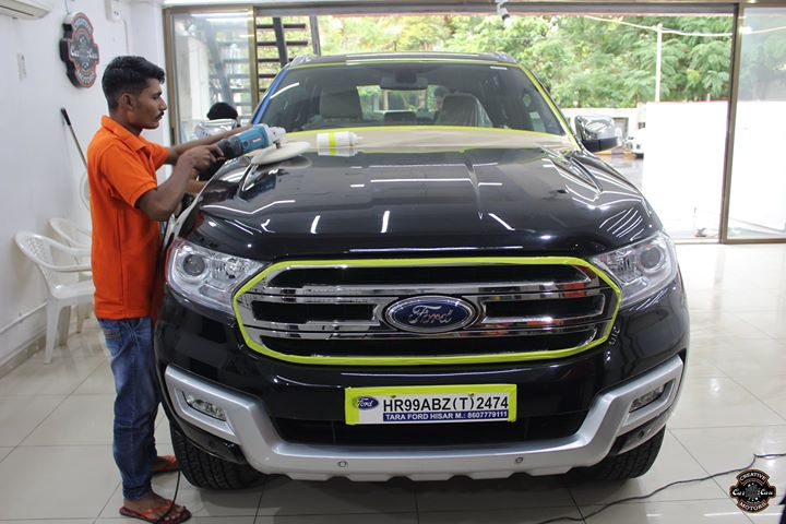 Ford Endevour getting 9H Ceramic Coating Creative Motors Rajkot  Benefits of Ceramic Coating👇 🔺9H Hardness coat 🔺Remove swirl marks 🔺Weather Resistance 🔺Mirror finish 🔺UV rays  🔺Water & Dust Repellent  #specialistforceramiccoating  Address:  Creative Motors Rajkot Akshar Marg, Amin Marg Rajkot - 360001  ☎️ Call or Whats App - +91 98250 90632  #creative #motors #details #detailsmatter #luxury #luxuriouscars #shine #ahmedabad #carlove #qualityovereverything #MercedesBenz #BestOrNothing