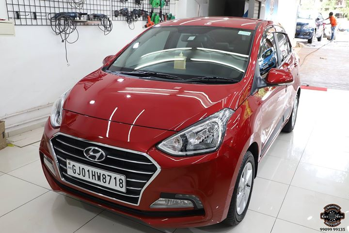 Hyundai Xcent got Ceramic Coated at Creative Motors Ahmedabad  Benefits of Ceramic Coating👇 🔺9H Hardness coat 🔺Remove swirl marks 🔺Weather Resistance 🔺Mirror finish 🔺UV rays 🔺Water & Dust Repellent  #specialistforceramiccoating  Address:  Creative Motors Ahmedabad GF 12,13 ZION Prime, Near Bagban Party Plot, Off SindhuBhavan Road, Ahmedabad  &  Creative Motors Ahmedabad Gf - 1,2 Urvashi Complex, Mithakhali Six Roads, Ahmedabad  ☎️ Call or Whats App - +91 99099 99135  #carservices #carspa #carwash #creative #motors #details #detailsmatter #luxury #luxuriouscars #shine #automobile #standout #live #pictures #reality #ahmedabad #carlove #speed #clean #thrill #exquisite