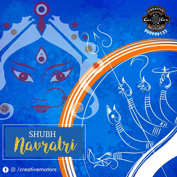 Wishing you fantastic nine nights of devotion, spirituality, and happiness. May Maa shower her choicest blessings over you.  Happy Navratri !   #NAVRATRI2018  #HAPPYNAVRATRI