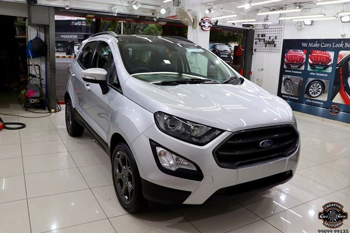 Creative Motors,  Ford, EcoSports, Silver, 2018, specialistforceramiccoating, carservices, carspa, carwash, creative, motors, details, detailsmatter, luxury, luxuriouscars, shine, automobile, standout, live, pictures, reality, ahmedabad, carlove, speed, clean, thrill, exquisite