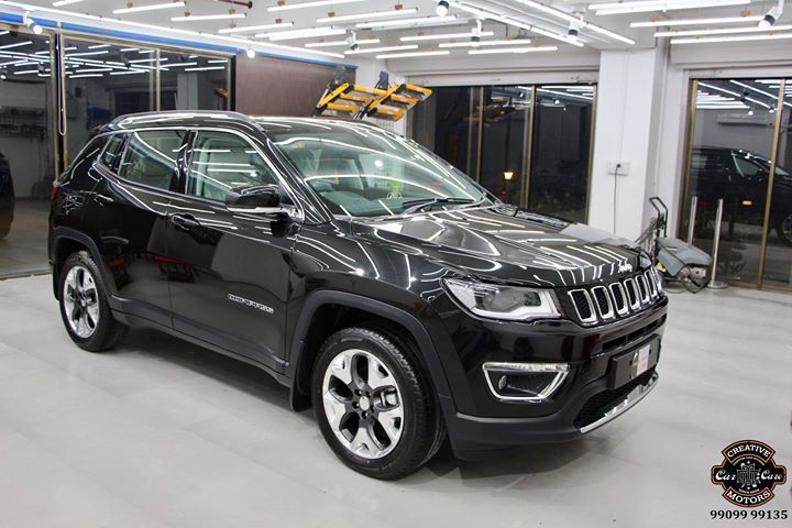 #Ceramic #Coating on #JEEP #Compass  Benefits of Ceramic Coating👇 🔺9H Hardness coat 🔺Remove swirl marks 🔺Weather Resistance 🔺Mirror finish 🔺UV rays 🔺Water & Dust Repellent  #specialistforceramiccoating  Address:  Creative Motors Ahmedabad GF 12,13 ZION Prime, Near Bagban Party Plot, Off SindhuBhavan Road, Ahmedabad  &  Creative Motors Ahmedabad Gf - 1,2 Urvashi Complex, Mithakhali Six Roads, Ahmedabad  ☎️ Call or Whats App - +91 99099 99137  #highend #cardetailing #carwash #creative #motors #details #detailsmatter #luxury #luxuriouscars #shine #automobile #standout #live #pictures #reality #ahmedabad #carlove #qualityovereverything