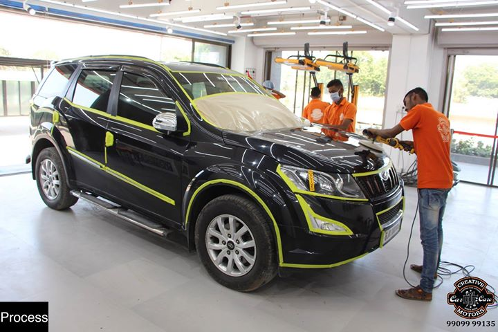 Creative Motors,  Ceramic, Coating, Mahindra, XUV500, Black, specialistforceramiccoating, highend, cardetailing, carwash, creative, motors, details, detailsmatter, luxury, luxuriouscars, shine, automobile, standout, live, pictures, reality, ahmedabad, carlove, qualityovereverything