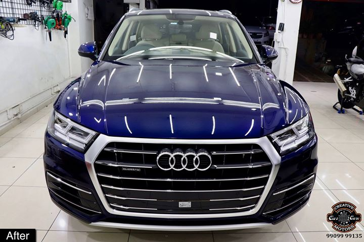 Creative Motors,  Ceramic, Coating, Audi, Q5, specialistforceramiccoating, carservices, carspa, carwash, creative, motors, details, detailsmatter, luxury, luxuriouscars, shine, automobile, standout, live, pictures, reality, ahmedabad, carlove, speed, clean, thrill, exquisite