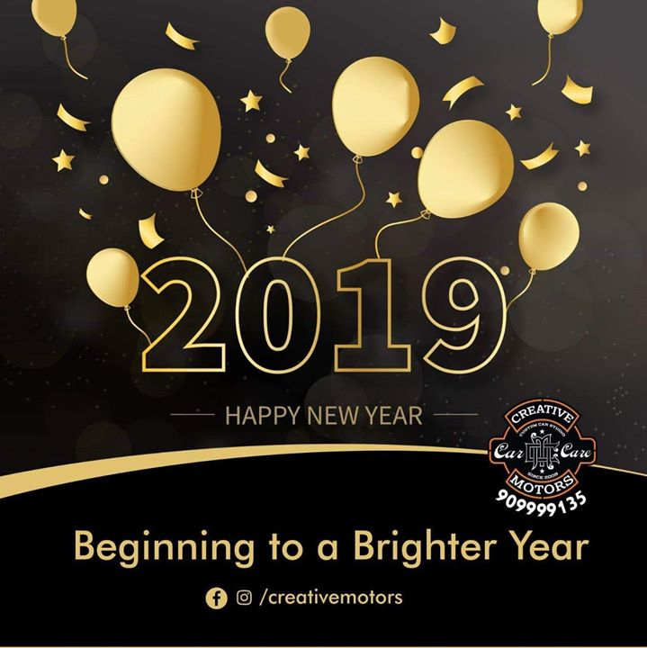 May this year bring new happiness, new goals, new achievements and a lot of new inspirations in our life. Wishing you all a year fully loaded with happiness.  Follow us on Instagram @ creativemotors