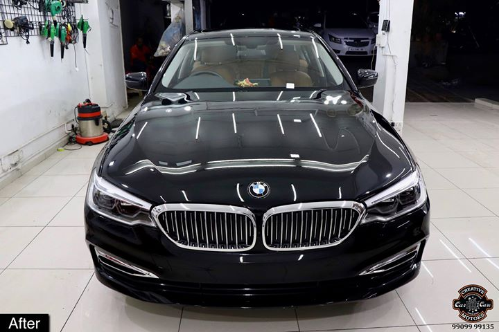 Another #BMW #530d getting #Ceramic #Coating at Creative Motors Ahmedabad  After | Process | Before Pictures - Attached  Benefits of Ceramic Coating👇 🔺9H Hardness coat 🔺Removes swirl marks 🔺Weather Resistance 🔺Mirror finish 🔺Avoids UV rays 🔺Water & Dust Repellent 🔺Easy to Clean & Maintain  #specialistforceramiccoating  Address:  Creative Motors Ahmedabad GF 12,13 ZION Prime, Near Bagban Party Plot, Off Sindhu Bhavan Road, Ahmedabad & Creative Motors Ahmedabad Gf - 1,2 Urvashi Complex, Mithakhali Six Roads, Ahmedabad  ☎️ Call or Whats App - +91 99099 99135  #ceramiccoating #glasscoating #bestcoating #nanocoating #9hceramiccoating #Rangeroverevoque #Qualityovereverything #Bestornothing