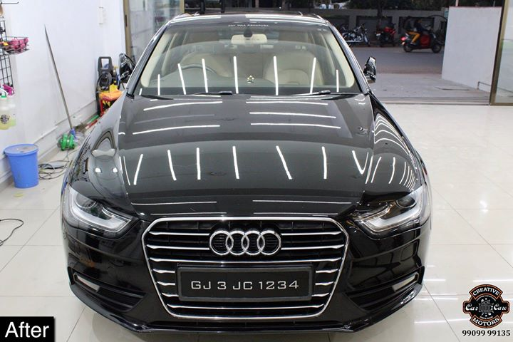 Creative Motors,  Audi, A4, Ceramic, Coating, specialistforceramiccoating, creativemotorsahmedabad, cardetailing, highendcardetailing, ahmedabad, ceramiccoating, glasscoating, Original, Permanent, protection, India, Super, worldno1, superhydrophobic, Diamond, proud, proudmoments, Mercedes, Ahmedabad, Rajkot, Qualityovereverything