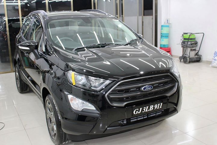 #Ford #EcoSports getting its Paint protected by #Ceramic #Coating🔥  Minor Scratches Removed, Ceramic Coating Applied which will last up to 4 years, & will Become Scratch Resistant up to 9H Hardness ✅, Easy to Clean & Maintain.  Carefully 👀Check Before & After Pictures 📸 mentioned in the Post  Benefits of Ceramic Coating👇 🔺9H Hardness coat 🔺Remove Swirl marks 🔺Weather Resistance 🔺Mirror finish 🔺Avoids UV rays 🔺Water & Dust Repellent  #specialistforceramiccoating  Our Branches: 📌 1. Zion Prime, Thaltej-Shilaj Rd. Ahmedabad. 2. Urvashi Complex, Law Garden Rd, Ahmedabad. 3. Akshar Marg-Amin Marg, Rajkot.  India 🇮🇳  Creative Motors®️ Website 💥 : www.creativemotors.in Youtube 🎥 : www.youtube.com/creativemotors  For Bookings/Query : ☎️Call: +91 99099 99135  📱Call: +91 99099 99134  #creativemotorsahmedabad🔝 #cardetailing #highendcardetailing #ahmedabad #ceramiccoating #glasscoating #Original #Permanent #protection #India #Super #worldno1 #superhydrophobic #Diamond #proud #proudmoments #Mercedes #Ahmedabad #Rajkot #Qualityovereverything