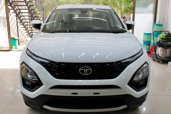 #Tata #Harrier getting its Paint protected by #Crystal #Coating🔥  Minor Scratches Removed, Ceramic Coating Applied which will last up to 4 years, & will Become Scratch Resistant up to 9H Hardness ✅, Easy to Clean & Maintain.  Carefully 👀Check Before & After Pictures 📸 mentioned in the Post  Benefits of Ceramic Crystal Coating👇 🔺9H Hardness coat 🔺Remove Swirl marks 🔺Weather Resistance 🔺Mirror finish 🔺Avoids UV rays 🔺Water & Dust Repellent  #specialistforceramiccoating  Our Branches: 📌 1. Zion Prime, Thaltej-Shilaj Rd. Ahmedabad. 2. Urvashi Complex, Law Garden Rd, Ahmedabad. 3. Akshar Marg-Amin Marg, Rajkot.  India 🇮🇳  Creative Motors®️ Website 💥 : www.creativemotors.in Youtube 🎥 : www.youtube.com/creativemotors  For Bookings/Query : ☎️Call: +91 99099 99135  📱Call: +91 99099 99134  #creativemotorsahmedabad🔝 #cardetailing #highendcardetailing #ahmedabad #ceramiccoating #glasscoating #Original #Permanent #protection #India #Super #worldno1 #superhydrophobic #Diamond #proud #proudmoments #Mercedes #Ahmedabad #Rajkot #Qualityovereverything