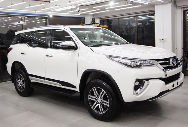 Fortuner After Ceramic Coatings🔥  It makes the Paint Scratch Resistant & Easy to Clean   Creative Motors Ahmedabad   Call- 9909999135 or  Visit-www.creativemotors.in  #creativemotors #ceramiccoating #nanoceramiccoating #glasscoating #fortuner