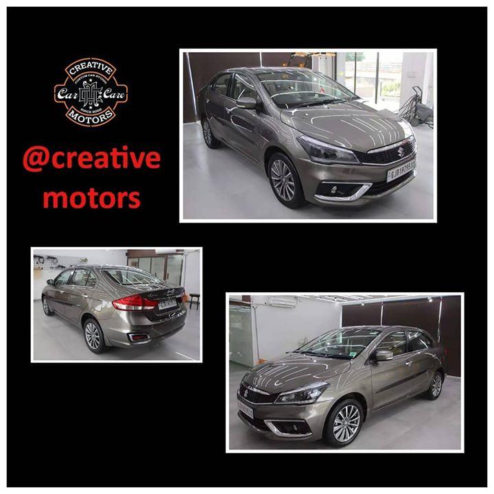 Creative Motors,  ceramiccoating, nanoceramiccoating, glasscoating, creativemotors, qualityovereverything, ahmedabad, amdavad, rangilurajkot, rajkot, ciaz, car, cars