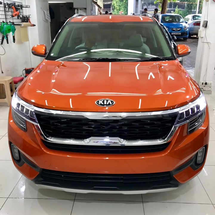 Kia Seltos Protected by Ceramic Coating 🔥  Benefits of Ceramic Coating👇      🔺9H Hardness coat    🔺Remove Swirl marks   🔺Weather Resistance    🔺Mirror finish    🔺Avoids UV rays    🔺Water & Dust Repellent   Call-9909999135 or Visit-www.creativemotors.in  #ceramiccoating #nanoceramiccoating #glasscoating #creativemotors #kiaseltos #qualityovereverything  @ Ahmedabad, India