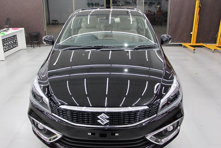 Ciaz Ceramic Coated 🔥  Benefits of Ceramic Coating👇    ✅9H Hardness coat   ✅Remove Swirl marks    ✅Weather Resistance     ✅Mirror finish     ✅Avoids UV rays     ✅Water & Dust Repellent     Get the Best Ceramic Coating For your Car Today    Call-9909999135  or  Visit-www.creativemotors.in  @ Thaltej