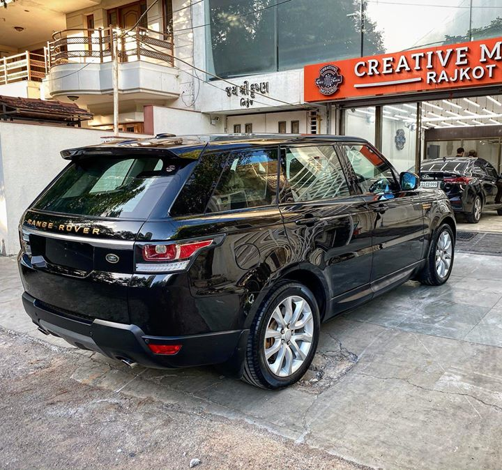 Ceramic Coating done on Range Rover Sports 🔥  Benefits of Ceramic Coating👇    ✅9H Hardness coat   ✅Remove Swirl marks    ✅Weather Resistance     ✅Mirror finish     ✅Avoids UV rays     ✅Water & Dust Repellent     Get the Best Ceramic Coating For your Car Today    Call-9909999135  or  Visit-www.creativemotors.in   #ceramiccoating #glasscoating #bestpaintprotection #ahmedabad #rajkot #paintprotection #9hceramiccoating #rangerover #rrsports #bestornothing