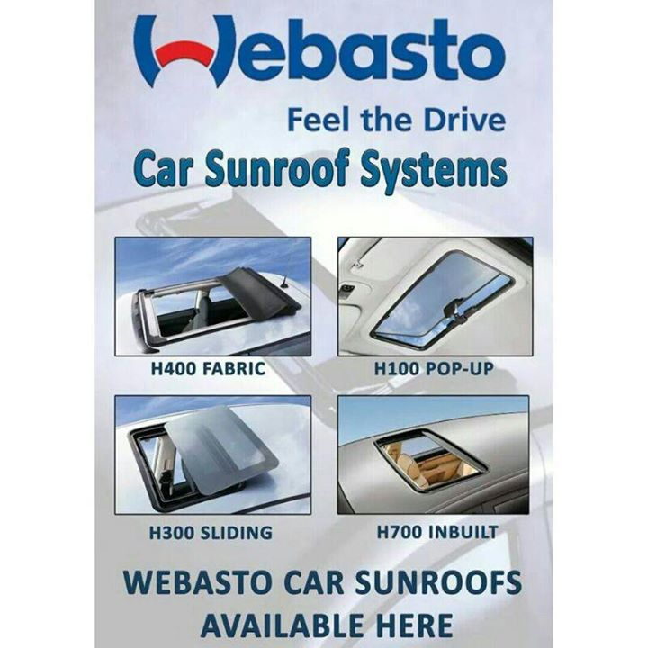 Webasto Car sunroof system - A great deal closer to the sky.  What can be better than feeling the sun on your skin,breathing fresh air and enjoying the feeling of freedom while travelling in your car ??? With a #Webasto sunroof, you can fulfill this desire and experience every trip with all your senses.  Come to Creative Motors for wide range of Variety n Style. Want to know more call on +91-9909999135   #creativemotors  #creativemotorsahmedabad