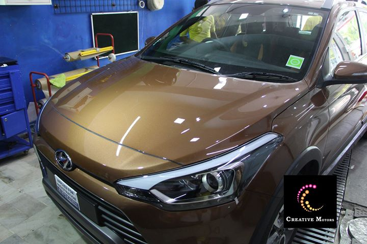 If you use glass coating on your car, it will have that shiny showroom look everyday. It's like something shining on the paint like a glass so it's named glass coated.  You can get in touch with us easily on our no.+91 9909999135... #creativemotors #creativemotorsinahmedabad