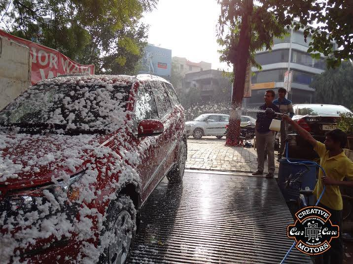 Car Detailing in Creative Motors...  If you love your car, every drive is a trip of mixed emotions. It feels great to get behind the wheel, yet every turn in the road poses a potential disaster for your vehicle's exterior. Road salt, construction, road debris, loose gravel and more are all hazards for your vehicle's well-being and are the target of Creative Motor's exterior detailing solutions.  Your car deserves to look the way it did in the showroom. Creative Motors has the exterior detailing solutions necessary to walk back the effects of thousands of miles and restore the shine on your vehicle's chrome, trim, wheels, tires, glass and more...  Come to Creative Motors for your Car Care...  Add :- 1&2, Ground Floor. Urvashi Complex, Mithakhali Cross roads, Navrangpura, Ahmedabad, India 380009  You can also Call Creative Motors on +91-99099 99135