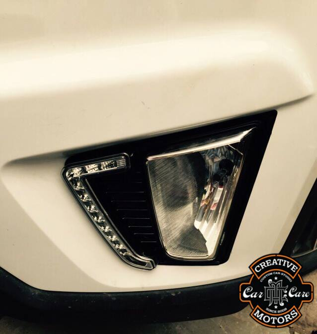 The new generation of high-power #LED daytime running lights improve your safety and style on the road, increasing your visibility day and night.  So Hurry up and book your car @ 'Creative Motors'   Speak to us now for more information on +91-99099 99135 or 079 26421200  Add :- 1&2, Ground Floor. Urvashi Complex, Mithakhali Cross roads, Navrangpura, Ahmedabad, India 380009