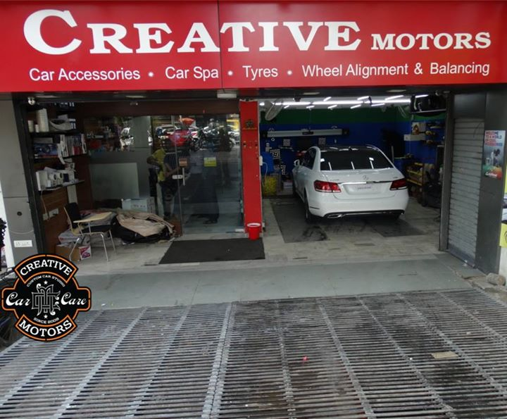 Creative Motors - We Make Cars Look Better Than New.  It is a one-stop for a wide range of state-of-the-art car accessories, immaculate #detailing, #bodyrepair and paint protection work.  We have integrated the best car accessories with perfect detailing and a state-of-the-art paint shop to bring you the best from the #worldofaccessories along with the best of detailing and body repair.  Give a #stylishlook to your car at our inspired store through #customizing, detailing and #personalizing your four-wheeled family members.  Make your Car Proud @ 'Creative Motors'  Book your appointment now #CreativeMotors Ring On >>> +91 99099 99135 or 079 26421200  Add :- 1&2, Ground Floor. Urvashi Complex, Mithakhali Cross roads, Navrangpura, Ahmedabad, India 380009