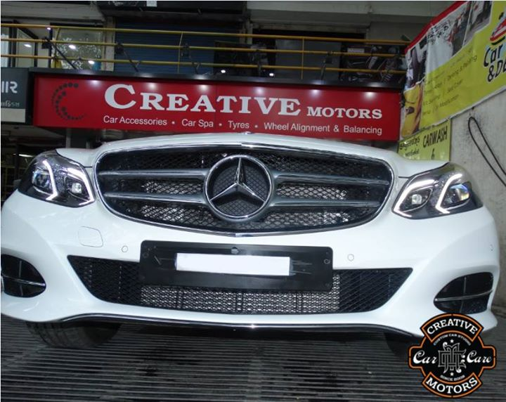 Glass Coated is a new #evolution for keeping your car at its finest #shine. If you use glass coated treatment on your car, it will have that shiny showroom look.  Hurry Up and Book your car @ 'Creative Motors'  Ring On >>> +91 99099 99135 or 079 26421200 Add :- 1&2, Ground Floor. Urvashi Complex, Mithakhali Cross roads, Navrangpura, Ahmedabad, India 380009