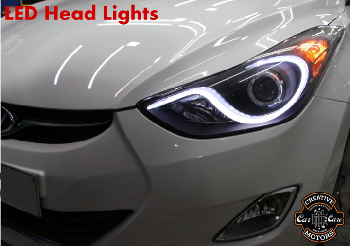 LED Head Lights & Tail Lights >>> Take your ride from dull to dominating !!!  Easy to install it and make upgrading to a high-end look quick and painless.  Move your car 'Creative Motors'  Ring On >>> +91 99099 99135 or 079 26421200  Add :- 1&2, Ground Floor. Urvashi Complex, Mithakhali Cross roads, Navrangpura, Ahmedabad, India 380009