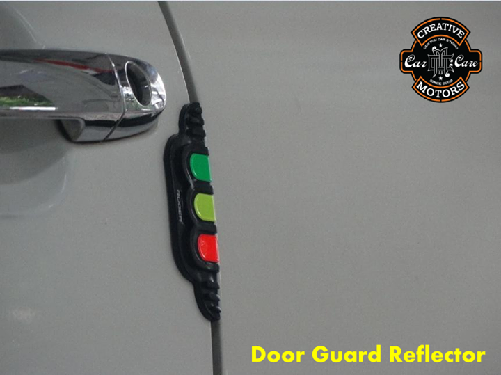 Push on door guards which have stayed on and protected the doors.Reflectors give added safety to car door edges.  Project your Car Door with #Reflector.  Ring On >>> +91 99099 99135 or 079 26421200  Add :- 1&2, Ground Floor. Urvashi Complex, Mithakhali Cross roads, Navrangpura, Ahmedabad, India 380009