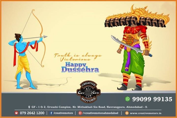 Creative Motors,  Dussehra, HappyDussehra