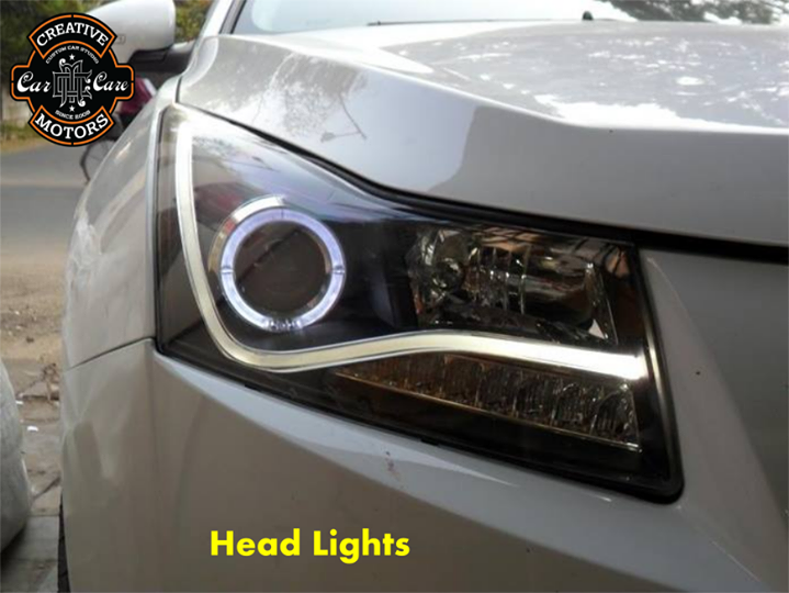 Define your style...  The latter feature brilliant #LEDlights that will make your vehicle stand out, even during inclement weather and when driving during times of the year when the sun casts long shadows.   Customize your ride's look,Get Best Deals On Wide Range of #Car #Accessories @ 'Creative Motors'...  Tel/Whatsapp : +91-99099 99135 or 079 26421200  Add :- 1&2, Ground Floor. Urvashi Complex, Mithakhali Cross roads, Navrangpura, Ahmedabad, India 380009