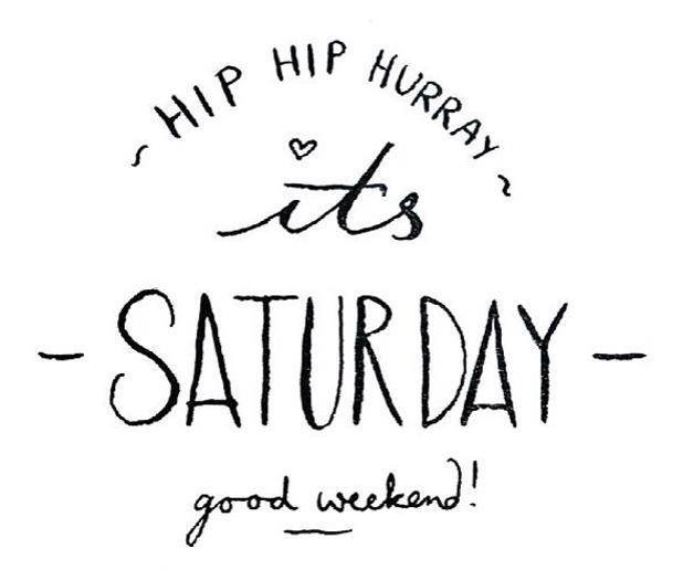 The weekend is here, finally we are reunited with Saturday !!! Enjoy it everyone...  #weekend  #happyweekend