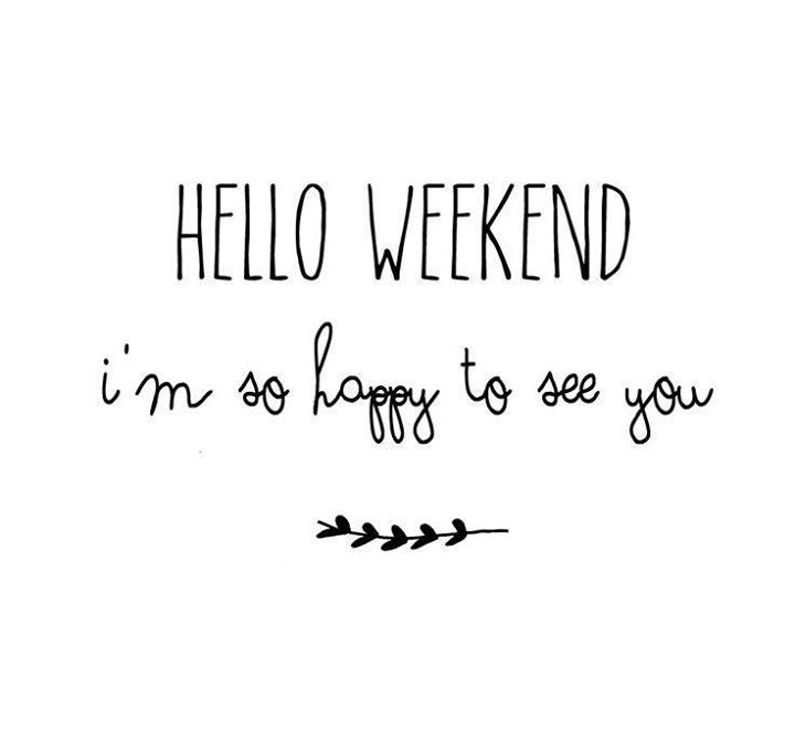 We have been waiting all week for today...Have a lovely #weekend everyone !!!  #happyweekend