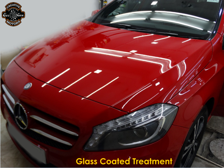 Makes your car look better than a new car. Our Glass Coated treatment has been wiped clean your car, it exhibits a special gloss that can be found on actual glass.  If you have decided, we welcome you to contact us as follow:  Tel/Whatsapp : +91 99099 99135 or 079 26421200  Add :- 1&2, Ground Floor. Urvashi Complex, Mithakhali Cross roads, Navrangpura, Ahmedabad, India 380009