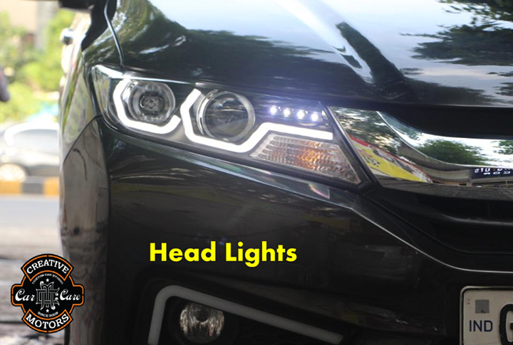 Turn on your #headlights!   'Creative Motors' might bring fancy adaptive headlights to the masses with this new sporty look in this lighting industry.  Customize your ride's look,Get Best Deals On Wide Range of #Car #Accessories @ 'Creative Motors' ...  Tel/Whatsapp : +91-99099 99135 or 079 26421200  Add :- 1&2, Ground Floor. Urvashi Complex, Mithakhali Cross roads, Navrangpura, Ahmedabad, India 380009