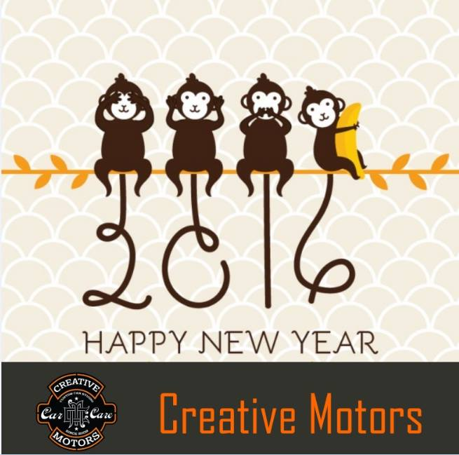 Wish you receive god is greatest favors this year, may all your dream convert into reality in this year, wish you a Happy , Prosperous ,joyful , successful ,fortunate ,glorious year ahead..  Happy New year 2016... - Team 'Creative Motors'  #happynewyear #newyear2016 #happynewyear2016