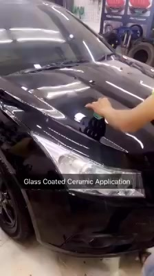 See How can #Glass #Coated #Ceramic #Application work on your #Car ! It Offered by LIMITED detailers ALL OVER THE #INDIA, now offered in Ahmedabad, Gujarat  Get this level of protection on your car and bike - contact 'Creative Motors' - We have affiliates who can do this in many cities All India.  Tel/Whatsapp : +91-99099 99135 or 079 26421200  Add :- 1&2, Ground Floor. Urvashi Complex, Mithakhali Cross roads, Navrangpura, Ahmedabad, India 380009