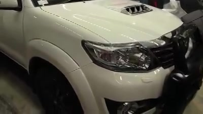 Ceramic Glass Coatings on Toyota Fortuner at Creative Motors   Price- 17500rs