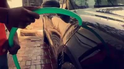 Porsche Maccan got the Best Ceramic Treatment  - Water Repellent Effect  Creative Motors Ahmedabad    GF 1,2 Urvashi Complex,   Nr. Pantaloons (CG Road) Mithakhali Six Roads,  Law Garden Road,  Navrangpura,  Ahmedabad          Call - 9909999135   #Porsche #Maccan #waterrepellent #ceramiccoating #glasscoating #nanotechnology